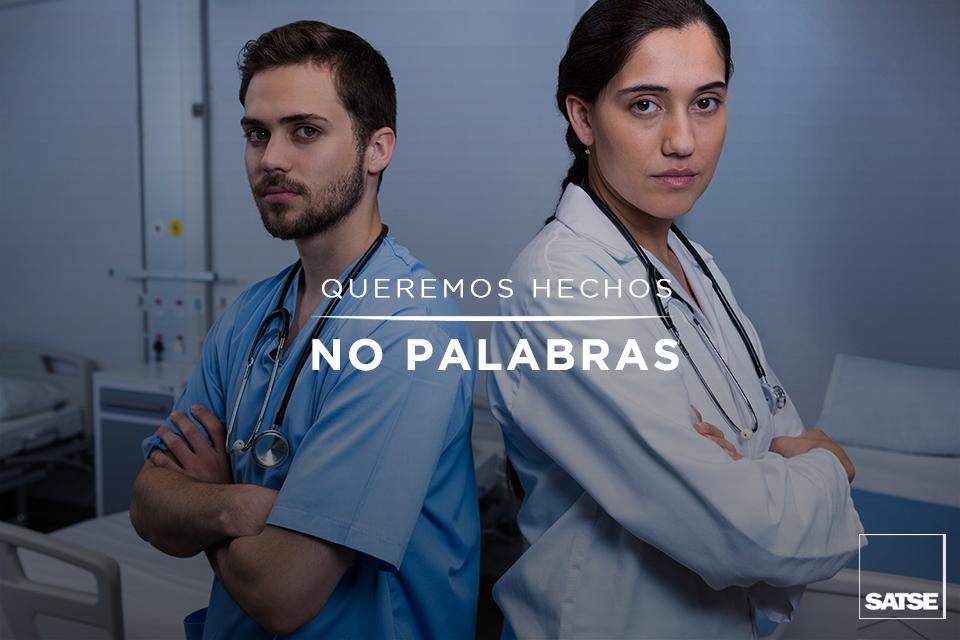 Señora ministra: nuestra enfermería quiere hechos y no palabras