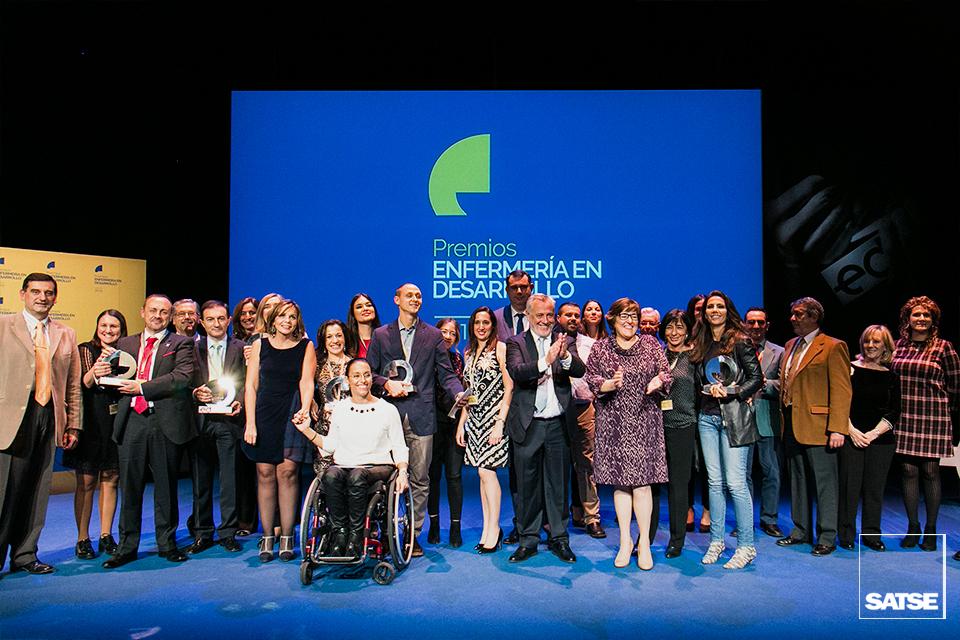 Víctor Aznar clausura la entrega de los Premios ED