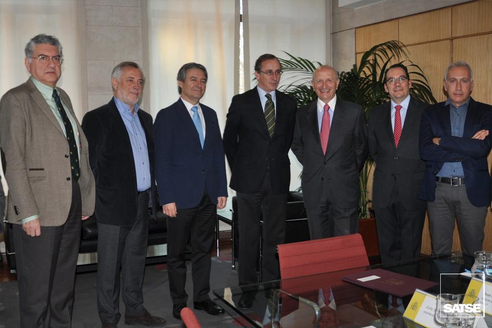 Víctor Aznar se reúne con Alfonso Alonso