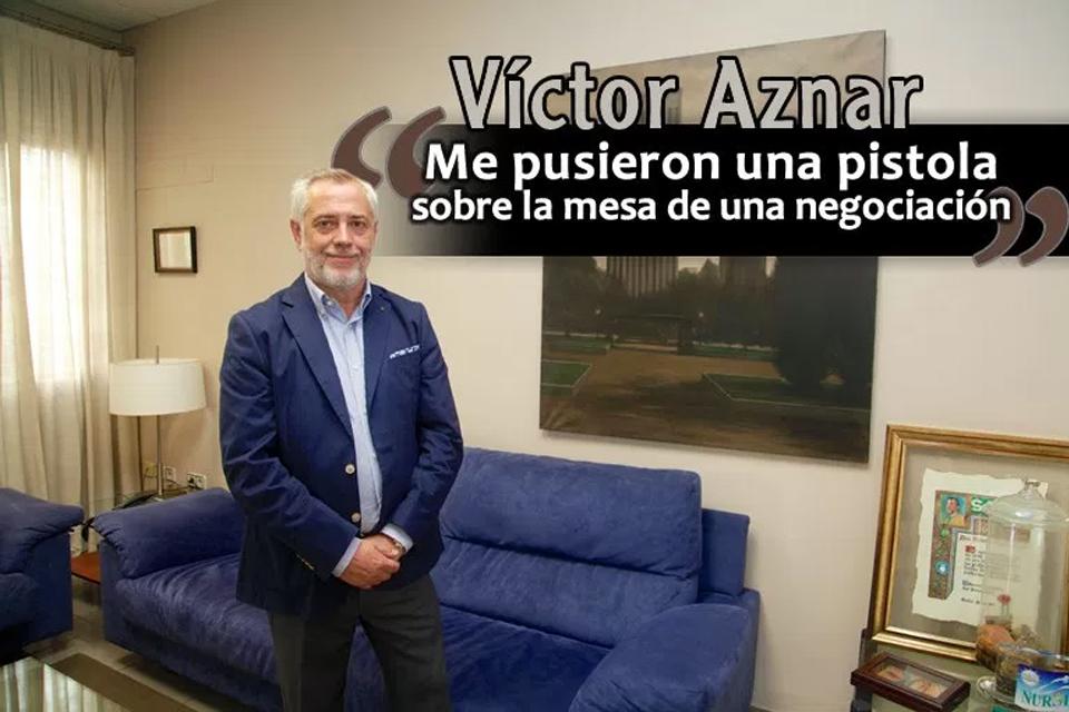 Entrevista a Victor Aznar, presidente de SATSE