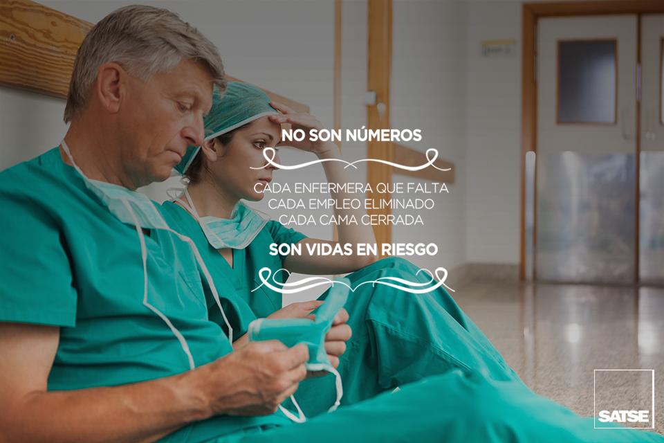 Cada enfermera que falta son vidas en riesgo